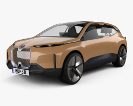 3D model of BMW Vision iNEXT 2018