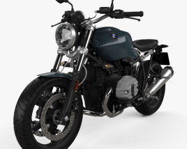 3D model of BMW R nineT Pure 2018
