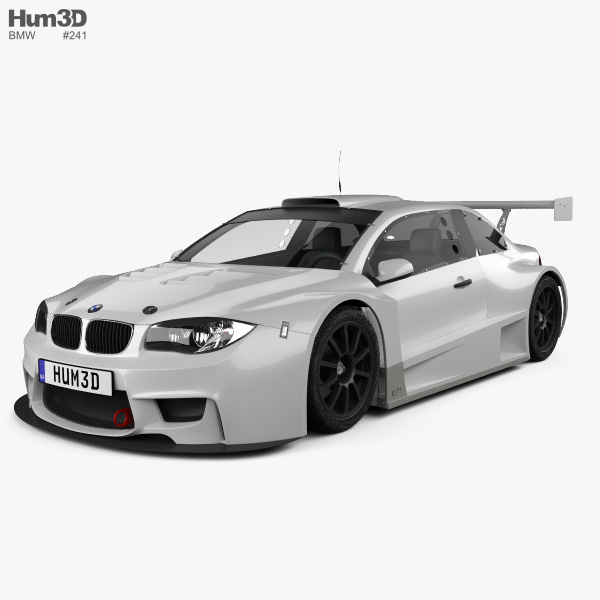 3D model of BMW M1 GC10-V8 coupe 2011