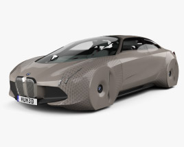 3D model of BMW Vision Next 100 with HQ interior 2016