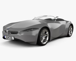 3D model of BMW GINA Light Visionary Model 2008
