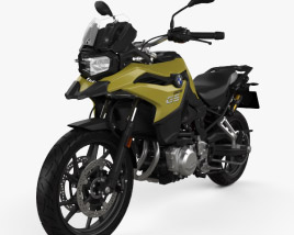 3D model of BMW F750GS 2019