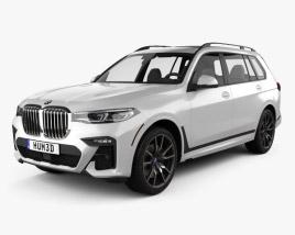3D model of BMW X7 M-Sport 2019