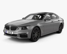 BMW 5 Series M-Sport sedan with HQ interior 2017