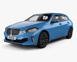 3D model of BMW 1 Series (F40) M135i 2019