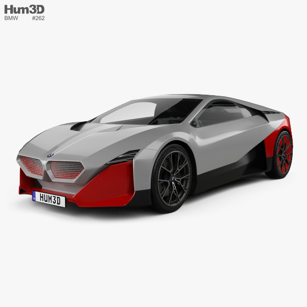 3D model of BMW Vision M Next 2019