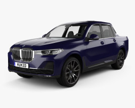 3D model of BMW X7 Pick-up 2019
