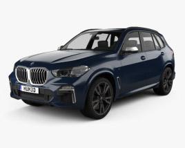 3D model of BMW X5 M 2019