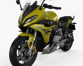 3D model of BMW R1250RS 2019