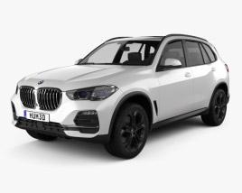 3D model of BMW X5 2019
