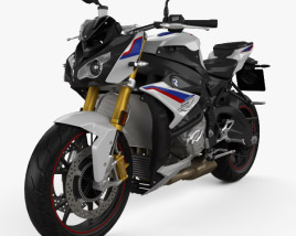 3D model of BMW S1000R 2020