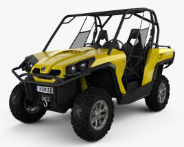 3D model of BRP Can-Am Commander XT 2012