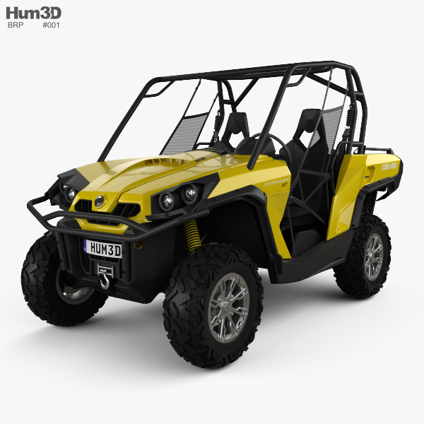 BRP Can-Am Commander XT 2012 3D model