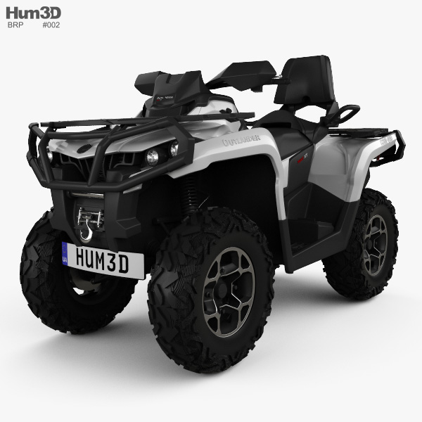 BRP Can-Am Outlander MAX XT 2013 3D model