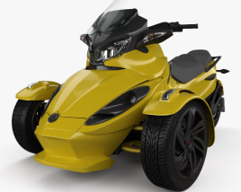 3D model of BRP Can-Am Spyder ST 2013