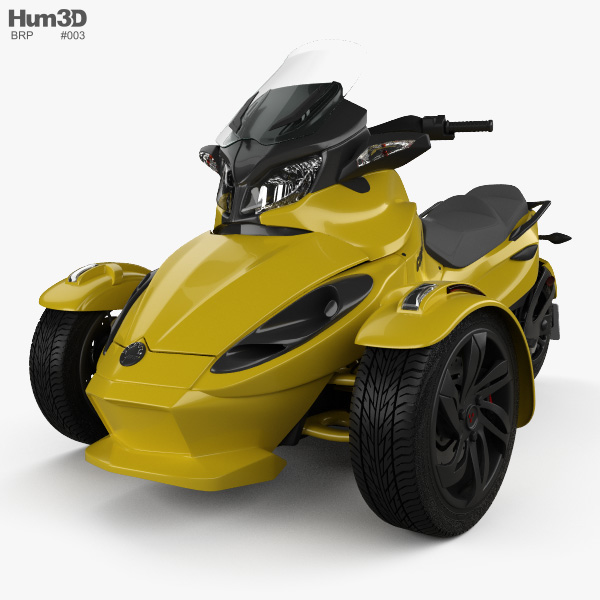BRP Can-Am Spyder ST 2013 3D model