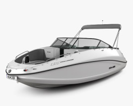 3D model of BRP Sea-Doo Challenger 230 2012