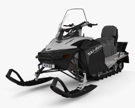 3D model of BRP Ski-Doo Expedition Sport 2012