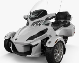 3D model of BRP Can-Am Spyder RT 2013