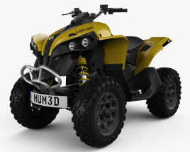 3D model of BRP Can-Am Renegade 2014