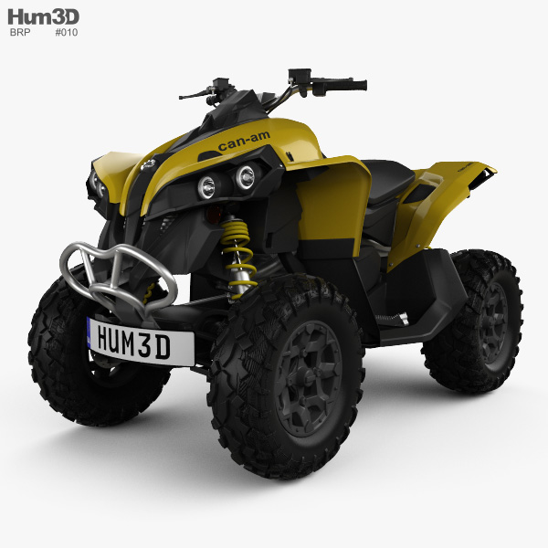 BRP Can-Am Renegade 2014 3D model