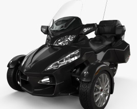 3D model of BRP Can-Am Spyder RT 2014