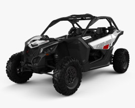3D model of BRP Can-Am Maverick X3 2017