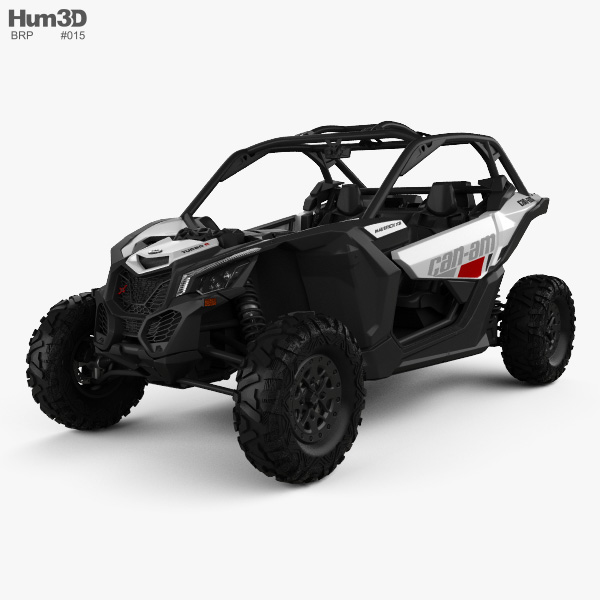 BRP Can-Am Maverick X3 2017 3D model