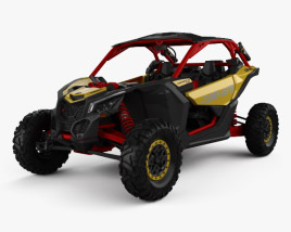3D model of BRP Can-Am Maverick X3 XRS 2017