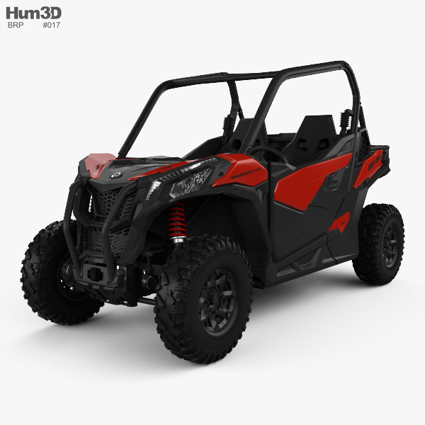 BRP Can-Am Maverick Trail 2018 3D model