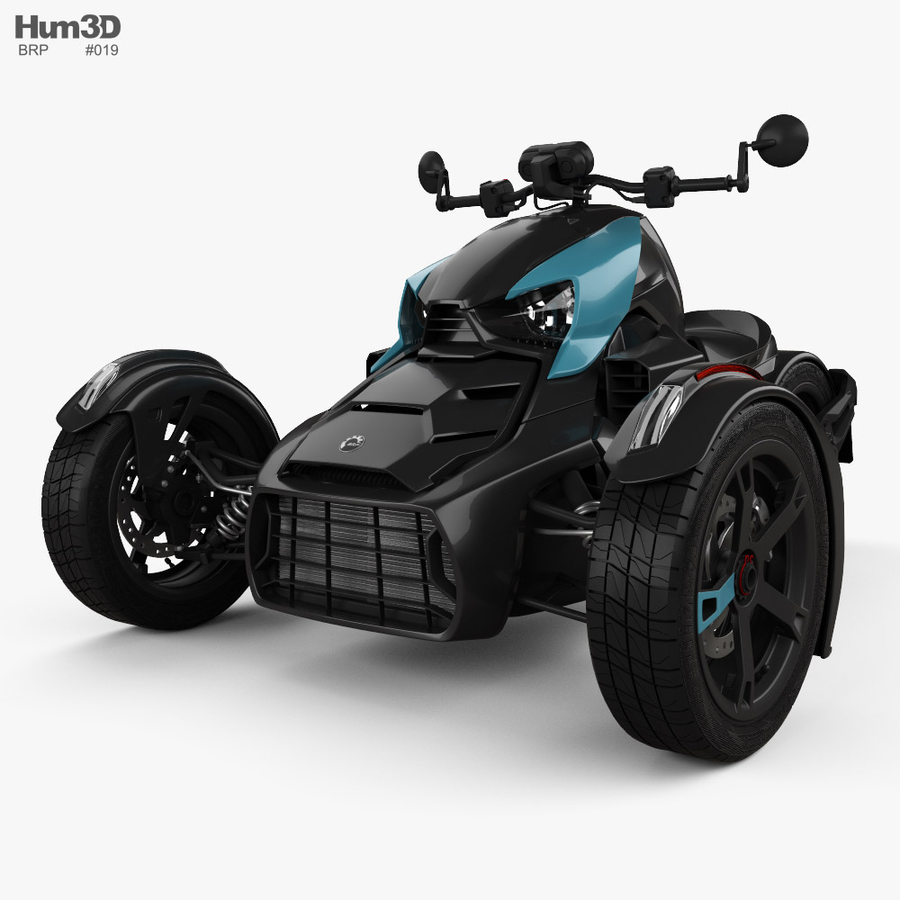 BRP Can-Am Ryker 2021 3D model