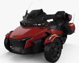 3D model of BRP Can-Am Spyder RT 2020