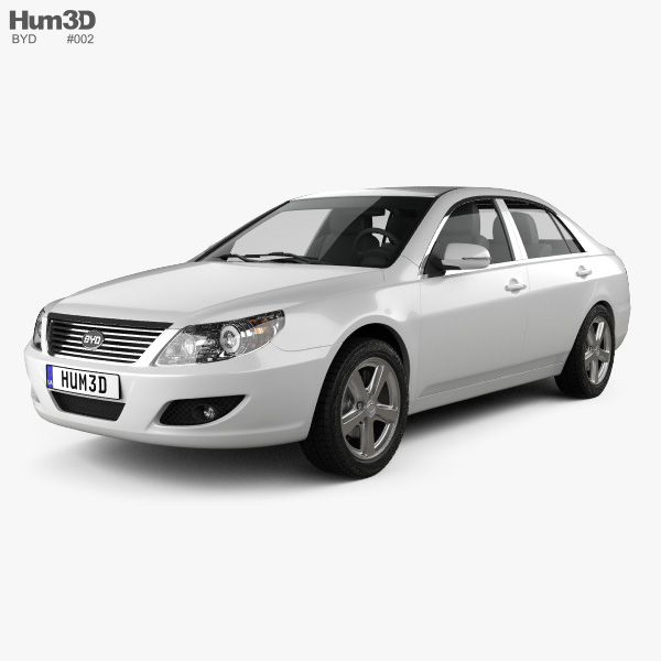 BYD F6 2012 3D model