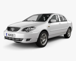 3D model of BYD F3 2012