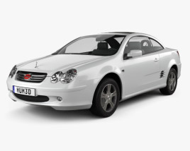 3D model of BYD F8 2009