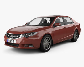3D model of BYD Si Rui 2013
