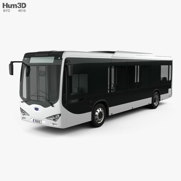BYD K9 Bus 2010 3D model