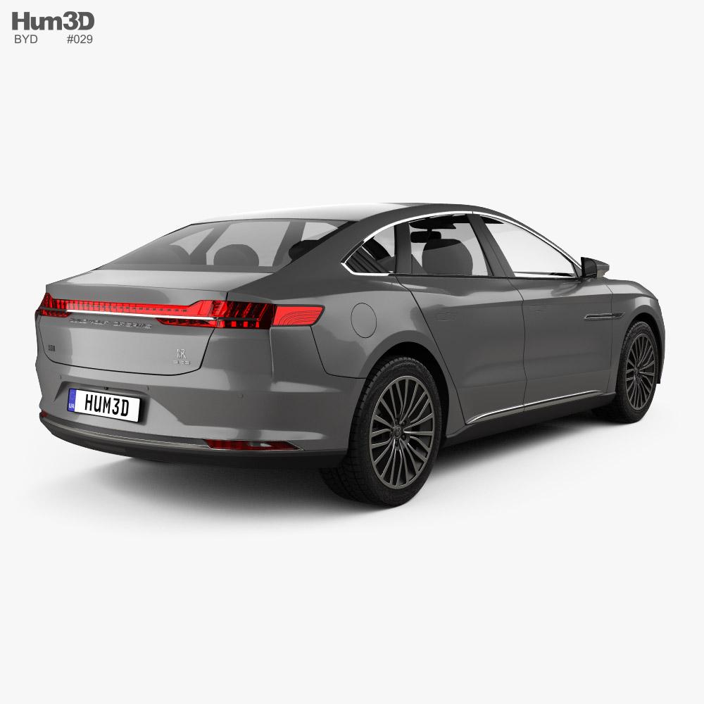 BYD Han DM 2020 3d model