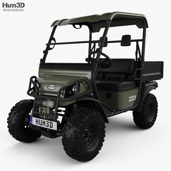 Bad Boy Buggies Recoil iS 4x4 2012 3D model
