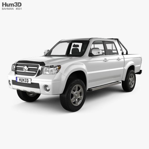 Bahman Capra 2 Double Cab 2017 3D model