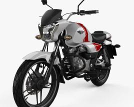 3D model of Bajaj V15 2016
