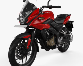 3D model of Bajaj AS200 2015