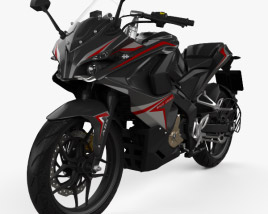 3D model of Bajaj RS200 2015