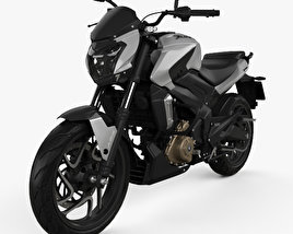 3D model of Bajaj Dominar 400 2017