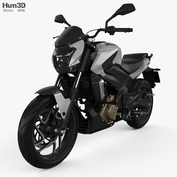 Bajaj Dominar 400 2017 3D model