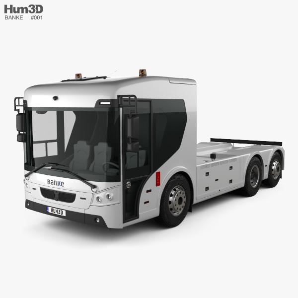 Banke ERCV27 Chassis Truck 2018 3D model