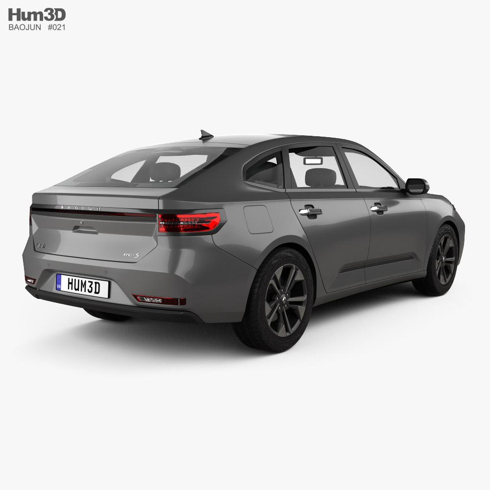 Baojun RC-5 2020 3d model back view