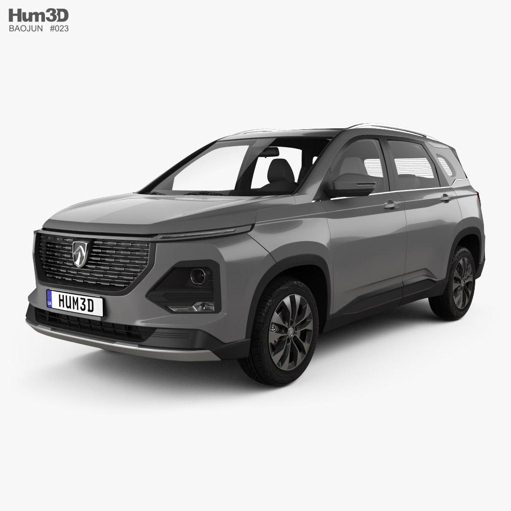 Baojun 530 2021 3D model
