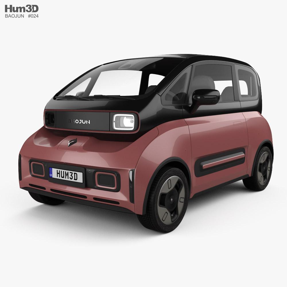 Baojun E300 Plus 2020 3D model