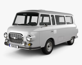 3D model of Barkas B1000 KB 1961